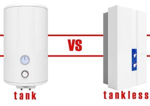Tankless vs Tank Water Heaters Review